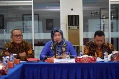 Koordinator Kopertis Wilayah III, Dr. Ir. Illah Sailah saat memberikan sambutan