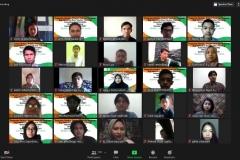 Para mahasiswa baru yang mengikuti kegiatan Penganalan FTKI (2)