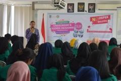 Pengenalan Lingkungan & Budaya Akademik Mahasiswa Bru di UNAS (1)