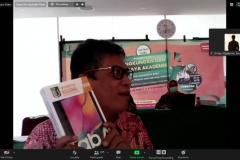 Pengumuman pemenang doorprize oleh Wakil Kepala Biro Administrasi Umum.,  Saptomo Setiawan, S.P., M.M.