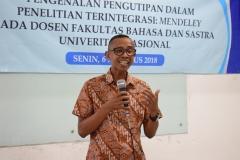 Pengenalan Pengutipan Dalam Penelitian Dosen Fakultas Bahasa & Sastra UNAS (1)