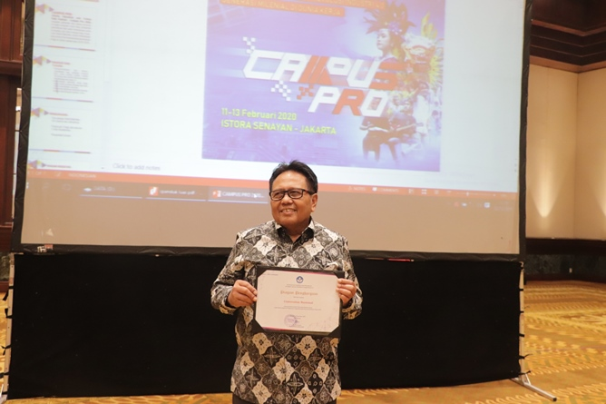 Wakil Rektor Bidang Administrasi Umum, Keuangan, dan SDM Prof. Dr. Drs. Eko Sugiyanto, M.Si