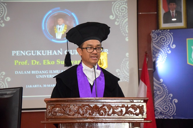 Direktur Penjaminan Mutu KEMENRISTEKDIKTI Prof. drh Aris Junaedi Ph.D