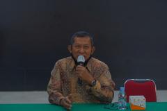 Wakil Rektor Bidang Akademik, Kemahasiswaan, dan Alumni UNAS Dr. Suryono Efendi, S.E., M.B.A., M.M., pada kegiatan Penyamaan Persepsi untuk Materi PLBA  antara pembuat materi dan instruktur TA 2021/2022 pada hari Kamis, 16 September 2021