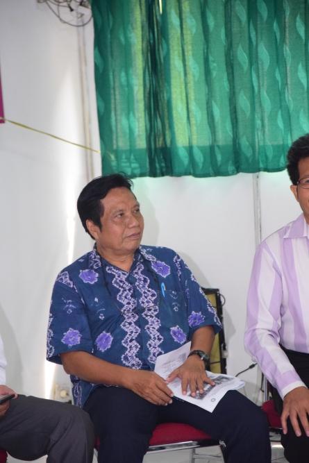 Dr. Sugarjito selaku Direktur KKI dalam acara penyambutan mahasiswa dari Guangxi
