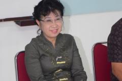 Dr. Soen Ai Ling dari pusat kajian dan budaya Tionghoa