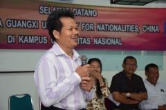 sambutan oleh Drs. Somadi selaku Dekan Fakultas Sastra