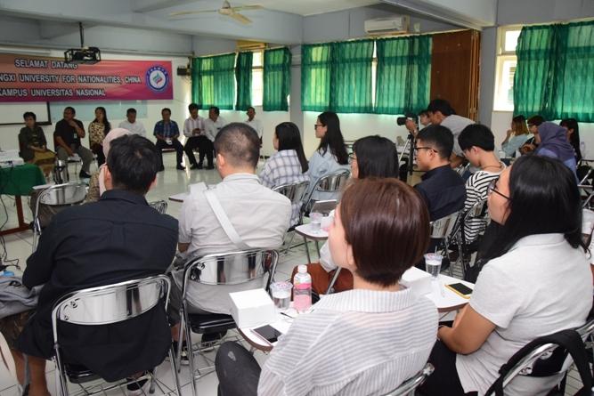 mahasiswa dari Guangxi University