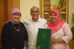 Penerimaan Surat Keputusan BAN PT Akreditasi A Univeristas Nasional
