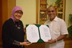 Penerimaan Surat Keputusan BAN PT Universitas Nasional dengan Akreditasi A