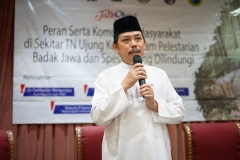 Ketua Pusat Pengajian Islam (PPI) Universitas Nasional (UNAS), Dr Fachruddin Mangunjaya,