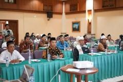 Para peserta talk show yang dihadiri oleh para Dai konservasi, tim patroli balai TNUK-WWF Indonesia, tim RPU YABI dan Petani/peternak