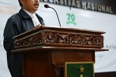 Ketua Pusat Pengajian Islam Dr. Drs. Fachruddin Majeri Mangunjaya, M.Si