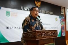 Ketua Pengurus YMIK, Dr. Ramlan Siregar, M.Si.