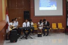 pemain musik dalam perayaan natal po unas
