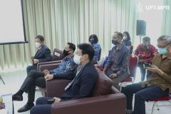 Para tamu undangan dalam acara Peresmian Universitas Siber Asia, pada Selasa, 22 September 2020
