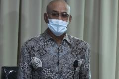 Rektor Universitas Nasional Dr. El. Amry Bermawi Putera, M.A. dalam acara Peresmian Universitas Siber Asia, pada Selasa, 22 September 2020