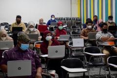Kegiatan Persiapan Learning Material SPADA Dosen UNAS pada hari Jumat, 19 Maret 2021