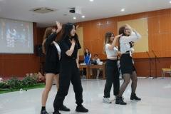 penampilan KPOP Dance dari mahasiswa Chung Ang University