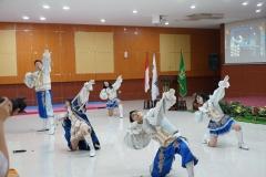 penampilan cheerleader dari mahasiswa Chung Ang University