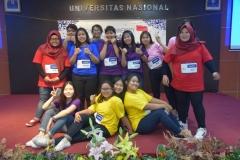 foto bersama mahasiswa unas