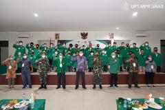 Foto bersama seluruh panitia dan peserta dalam kegiatan PKKM pada Jumat (6/11) di Rindam Jaya
