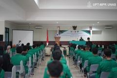 Upacara pembukaan kegiatan PKKM pada Jumat (6/11) di Rindam Jaya