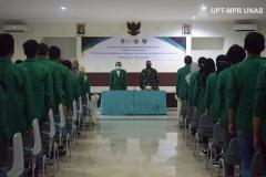 Upacara penutupan kegiatan PKKM pada Minggu, (8/11) di Rindam Jaya