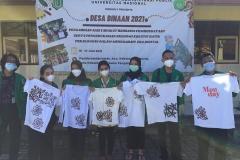 """Kegiatan Live In """"Membatik"""" Peserta Desa Binaan 2021 Bersama Masyarakat Desa Pasirsari"""