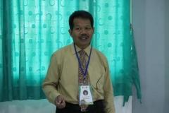 Dekan Fakultas Sastra dan Bahasa Drs. Somadi, M.Pd