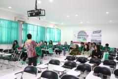 suasana saat kegiatan PLBA UNAS, di Jakarta, (21/3)