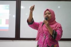 Manager Marketing and Public Relations UNAS Dian Metha Ariyanti, S.Sos., M.Si.