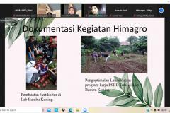 Pemaparan materi oleh Himpunan Mahasiswa Agroteknologi UNAS dalam  PLBA Fakultas Pertanian pada Sabtu, 25 September 2021