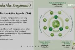 """Materi PPT oleh Kordinator Asia Tenggara, Tropical Forest Alliance Dr. Erwin Widodo saat webinar NGAJIONLINEPPI-04 """"Pemberdayaan Umat Di Sekitar Kawasan Hutan Pada Masa Covid-19"""" di Jakarta, Jumat, (15/5)"""