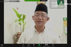 """Kordinator Asia Tenggara, Tropical Forest Alliance Dr. Erwin Widodo saat memaparkan materinya dalam webinar NGAJIONLINEPPI-04 """"Pemberdayaan Umat Di Sekitar Kawasan Hutan Pada Masa Covid-19"""" di Jakarta, Jumat, (15/5)"""