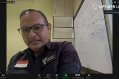 """Direktur Eksekutif Dompet Dhuafa Drg. Imam Rulyawan, MARS saat memaparkan materi dalam webinar NGAJIONLINEPPI-04 """"Pemberdayaan Umat Di Sekitar Kawasan Hutan Pada Masa Covid-19"""" di Jakarta, Jumat, (15/5)"""