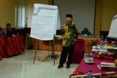 Ketua PPI saat presentasi