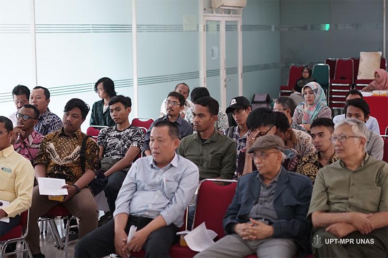 Para peserta Diskusi Kajian series Pusat Pengajian Islam (PPI) Universitas Nasional