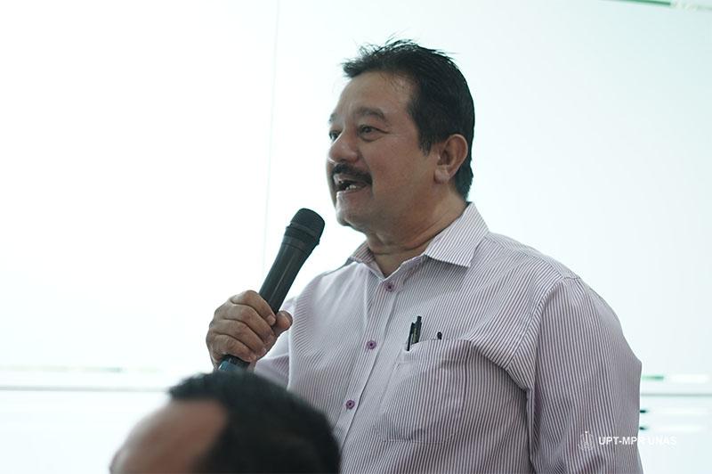Dosen Universitas Nasional Drs.Ambia B Boestam,M.Si