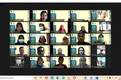 Pelatihan preceptorship yang dilakukan secara Online pada 22 hingga 23 Januari 2021
