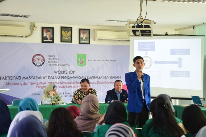 Prodi Ilmu Komunikasi Gelar Workshop Partisipasi Masyarakat dalam Pengawasan Lembaga Penyiaran (11)