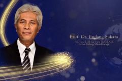 Guru Besar Universitas Nasional, Prof. Dr. Endang Sukara penerima Penganugerahan Penghargaan Ilmu Pengetahuan LIPI Sarwono Award XIX tahun 2021