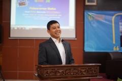 Prof. Dr. Yuddy Chrisnandi SH, ME dalam Sambutan Peluncuran Buku Dari KYIV Menulis INDONESIA