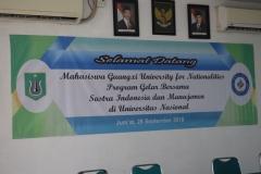 Program Gelar Bersama Mahasiswa UNAS dan Mahasiswia Guangxi University (2)