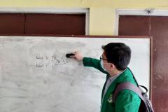 Richard Laurent  mahasiswa Informatika FTKI Unas yang mengikuti program Kampus Mengajar Angkatan 1 Tahun 2021 yang diselenggarakan oleh pemerintah dari tanggal 22 Maret - 25 Juni 2021