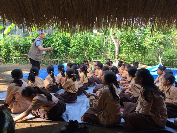 Pusat Penelitian dan Pengabdian Masyarakat (P3M) UNAS bersama Direktorat Kementerian Pendidikan dan Kebudayaan telah mewujudkan Peduli Lombok, NTB (13)