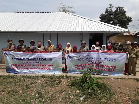 Pusat Penelitian dan Pengabdian Masyarakat (P3M) UNAS bersama Direktorat Kementerian Pendidikan dan Kebudayaan telah mewujudkan Peduli Lombok, NTB (5)