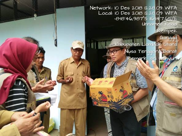 Pusat Penelitian dan Pengabdian Masyarakat (P3M) UNAS bersama Direktorat Kementerian Pendidikan dan Kebudayaan telah mewujudkan Peduli Lombok, NTB (8)