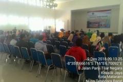 Pusat Penelitian dan Pengabdian Masyarakat (P3M) UNAS bersama Direktorat Kementerian Pendidikan dan Kebudayaan telah mewujudkan Peduli Lombok, NTB (1)
