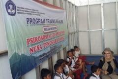 Pusat Penelitian dan Pengabdian Masyarakat (P3M) UNAS bersama Direktorat Kementerian Pendidikan dan Kebudayaan telah mewujudkan Peduli Lombok, NTB (11)